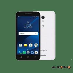 Celular Alcatel Cameox + Estuche - Blanco