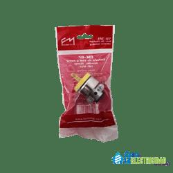 Enchufe Sencillo Fermetal Enc-07 15 Amp