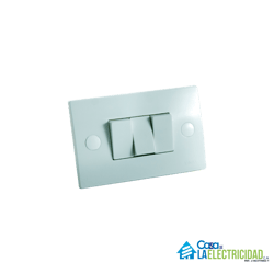 Interruptor Triple Vimar 10A - Blanco