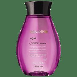 Aceite Hidratante Corporal oBoticario Nativa Spa Açai 250 ml
