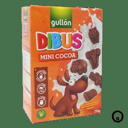 Galleta Gullón Dibus Mini Animal Cacao 250 gr