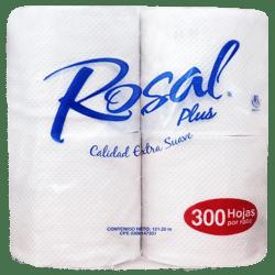 Papel Higiénico Rosal Plus 300hojas