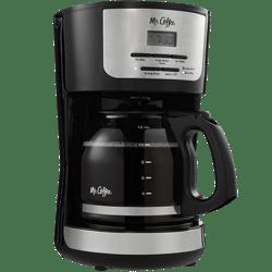 Cafetera Oster Programable 12 Tazas Mr Coffee Bvmc-Flx31 - Negro