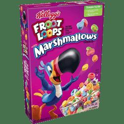 Cereal Froot Loops Marshmallows Kellogg's 297g
