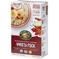Avena Instantánea Gluten Free Variety Pack Nature's Path 320g