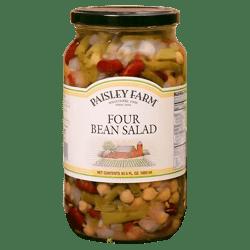 Encurtido Four Bean Salad Paisley Farm 1.05 L