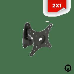 "2x1 Base para Tv Klip Xtreme 10-24"""