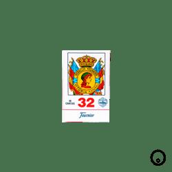 Cartas Españolas Fournier 1036923 - Azul y Rojo