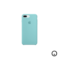 Forro de Silicone para Iphone 7 - Azul