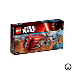 Lego Star Wars Rey's Speeder V39 75099