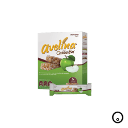 Barras Avelina Golden Bar Manzana 132 g