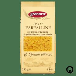 Pastina al Huevo Granoro Farfalline N°112 250g