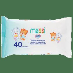 Toallas Húmedas Baby Soft Premium 40unds