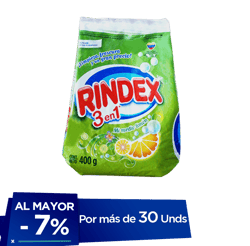 Detergente Rindex Limón 400 g