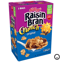 Cereal Kellogg's Raisin Bran Original 1.19kg